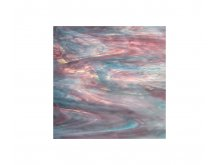 Spectrum opalescent 30x30cm sky blue white pink
