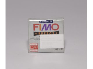 Fimo effect 812 glitter silver 56g