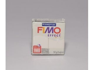 Fimo effect 08 metallic white 56g