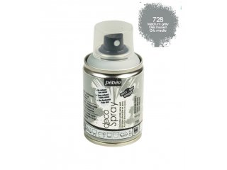 Deco spray 100ml med.grey