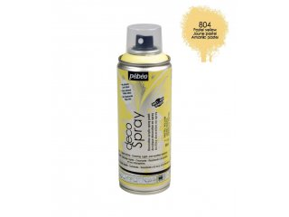 Deco spray 200ml past.yellow