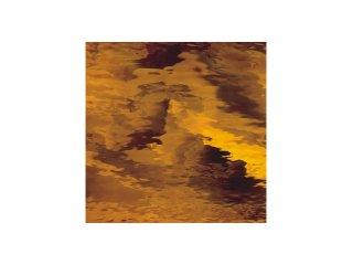 Spectrum waterglass 30 x 30cm dark amber