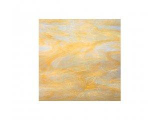 Spectrum opalescent 30 x 30cm pale amber white