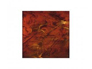 Spectrum opalescent 30x30cm dark amber white
