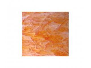 Spectrum opalescent 30x30cm orange white