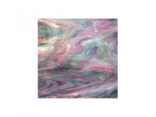 Spectrum opalescent 30x30cm green pink purple