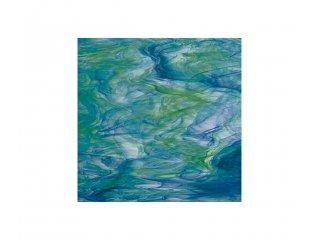 Spectrum opalescent 30x30cm green blue