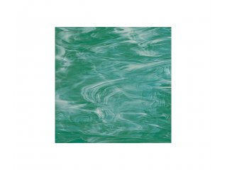 Spectrum opalescent 30x30cm teal green white
