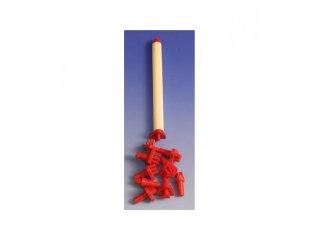 Plastični alatići crveni