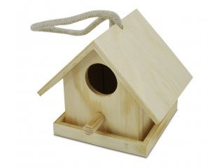 Kućica za ptice drvena 8x10x7,5cm