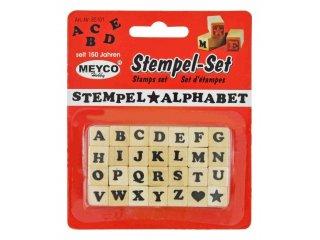 Štambilji abeceda 23x10x10mm