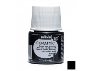 Boja za keramiku Black 45ml