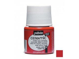 Boja za keramiku Red cherry 45ml