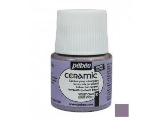 Boja za keramiku Violet light 45ml