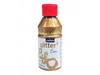 Glitter gel gold 250ml