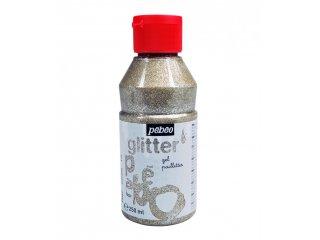 Glitter gel silver 250ml