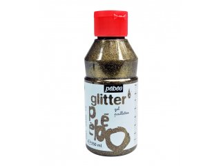 Glitter gel bronze 250ml