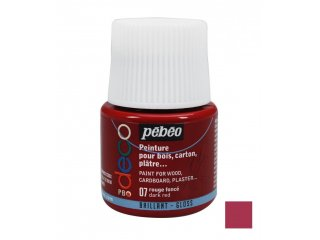 Dekorativna boja sjajna Dark red 45ml