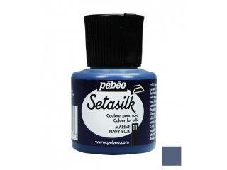 Boja za svilu Blue navy 45ml