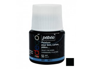 Dekorativna boja mat Black 45ml