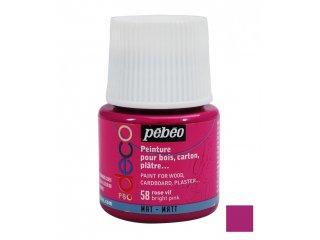 Dekorativna boja mat Bright pink 45ml