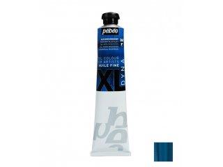 Uljana boja 80ml Iridescent blue black
