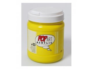 Pop art akril 700ml Primary yellow