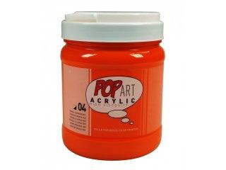 Pop art akril 700ml Cadmium orange
