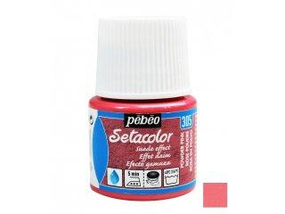 Boja za tkaninu efekt umjetne kože Pink powder 45ml