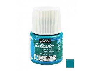 Boja za tkaninu efekt umjetne kože Turquoise 45ml