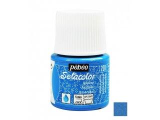 Boja za tkaninu glitter Aquamarine 45ml