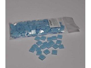 Stakleni mozaik 10x10mm 80g pastel blue