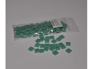 Stakleni mozaik 10x10mm 80g turquoise