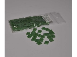Stakleni mozaik 10x10mm 80g lime green