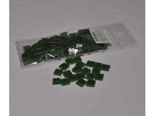Stakleni mozaik 10x10mm 80g fir green