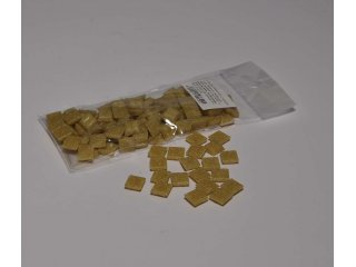 Stakleni mozaik 10x10mm 80g cinnamon