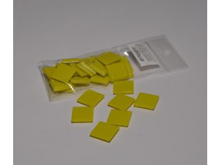 Stakleni mozaik 20x20mm 80g yellow