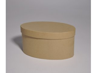 Kutija karton oval 13x6/6cm
