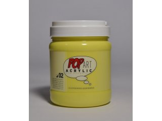 Pop art akril 700ml Lemon yellow