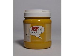 Pop art akril 700ml Yellow ochre