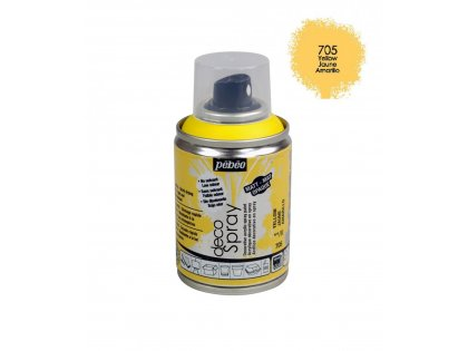 Deco spray 100ml yellow