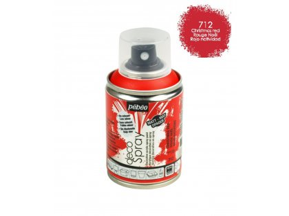 Deco spray 100ml christ.red