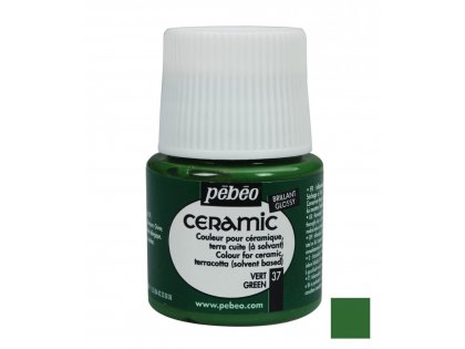 Boja za keramiku Green 45ml