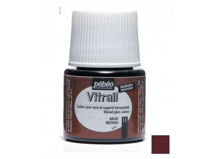 Boje za Vitrail Brown 45ml