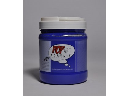 Pop art akril 700ml Ultramarine blue