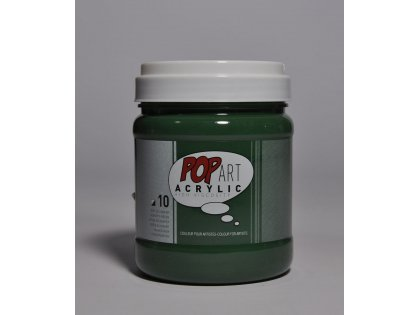 Pop art akril 700ml Hooker`s green